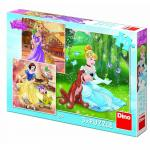 Puzzle 3 in 1 Printese jucause 55 piese