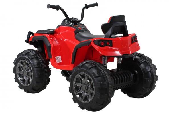 Atv Quad electric Offroad Bumper Trendmax pentru copii rosu 2x35W 12V cu telecomanda control