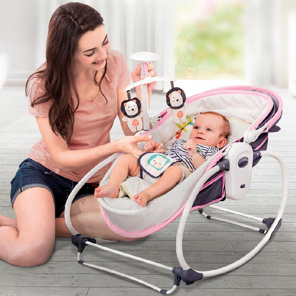 Balansoar pentru bebelusi 5 in 1 Ava Purple imagine
