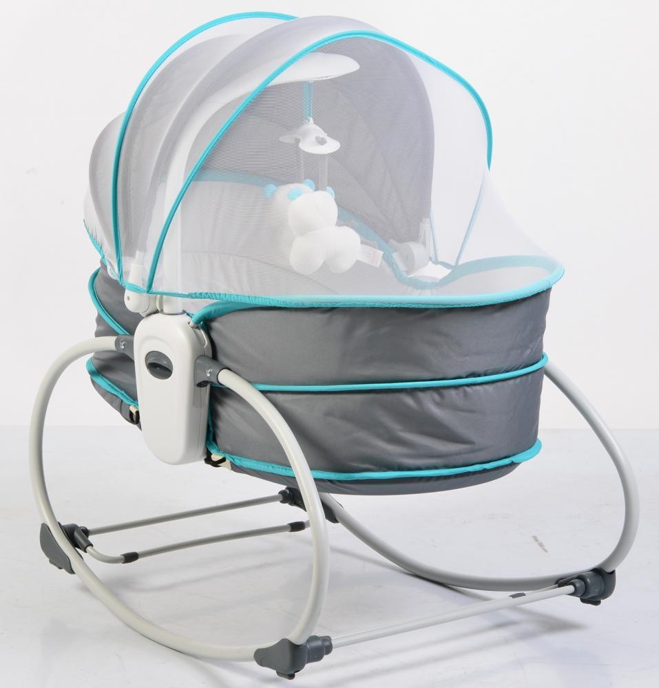 Balansoar pentru bebelusi 5 in 1 Ava Turquoise imagine