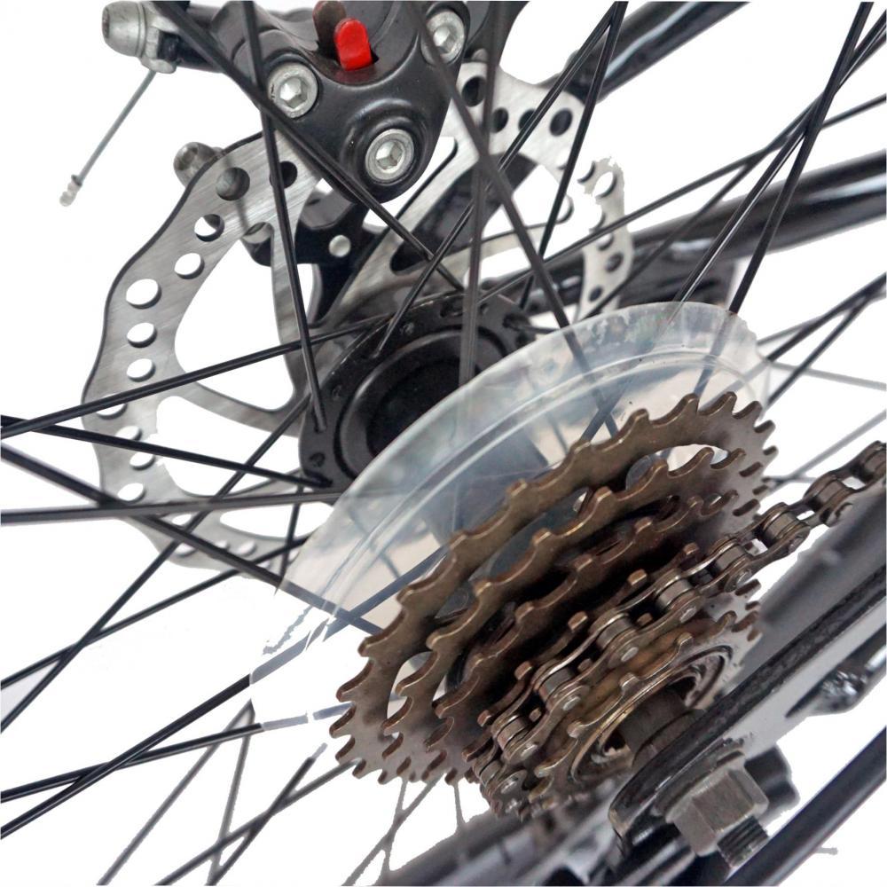 Bicicleta MTB-FS 26 Carpat Muddy Horse C2641B cadru otel negru albastru