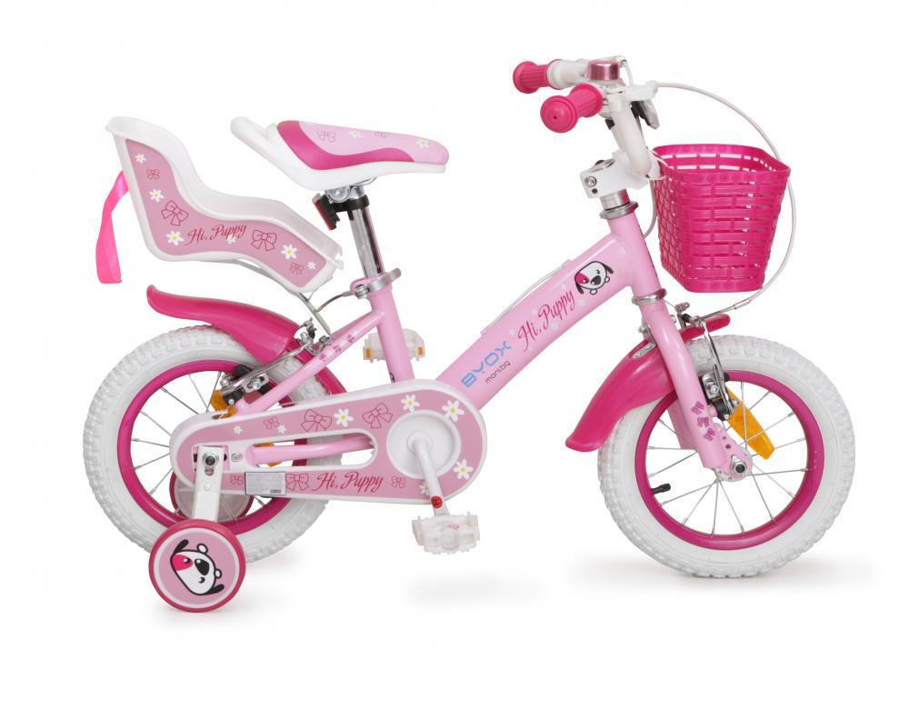 Bicicleta pentru fetite Byox Puppy 12 Roz