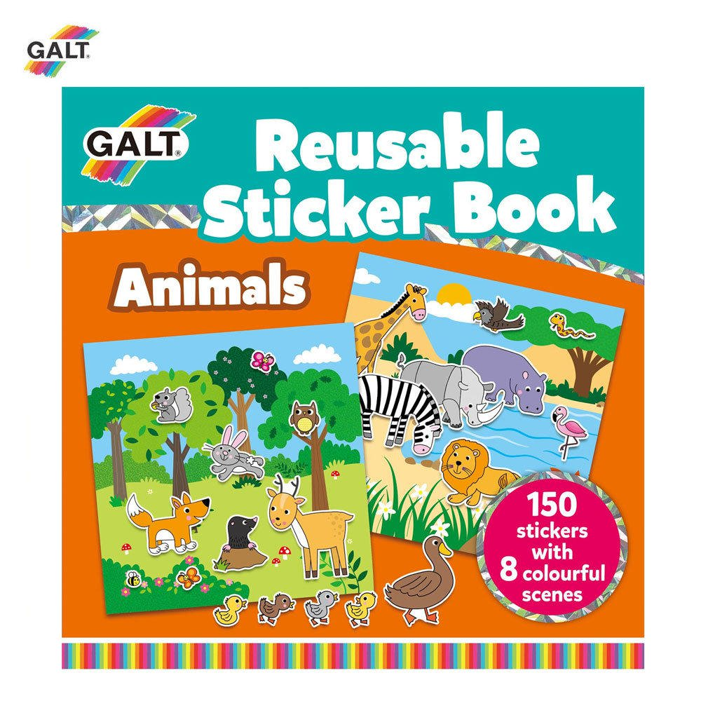 Cartea mea cu stickere Animale