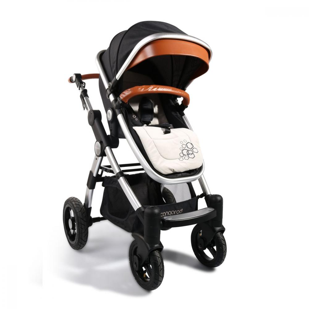 Carucior 2 in 1 Cangaroo Luxor Black imagine