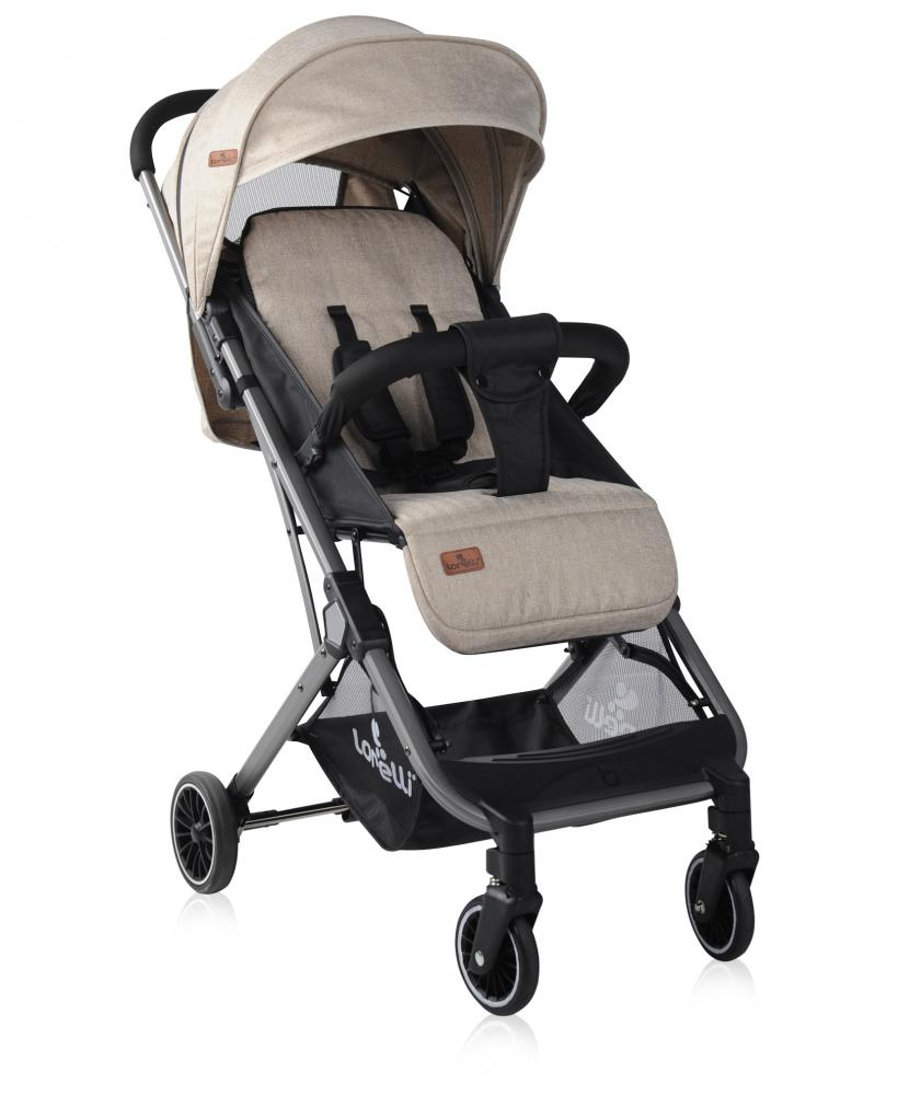 Carucior Fiona cu geanta de transport inclusa Dark Beige imagine