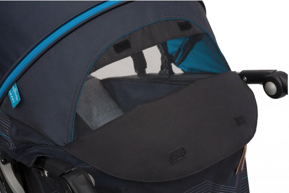 Carucior sport Baby Design Smart 5 Turquoise 2019