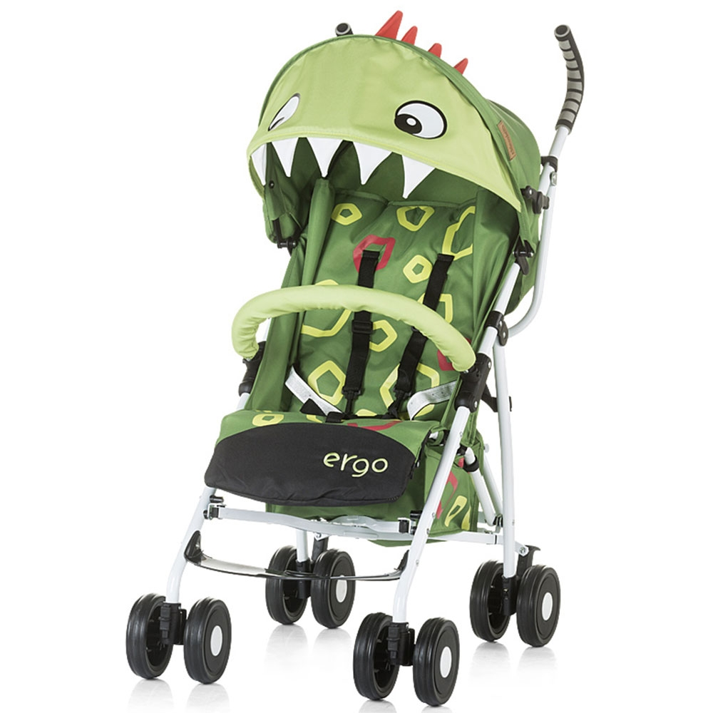 CHIPOLINO Carucior sport Chipolino Ergo green baby dragon