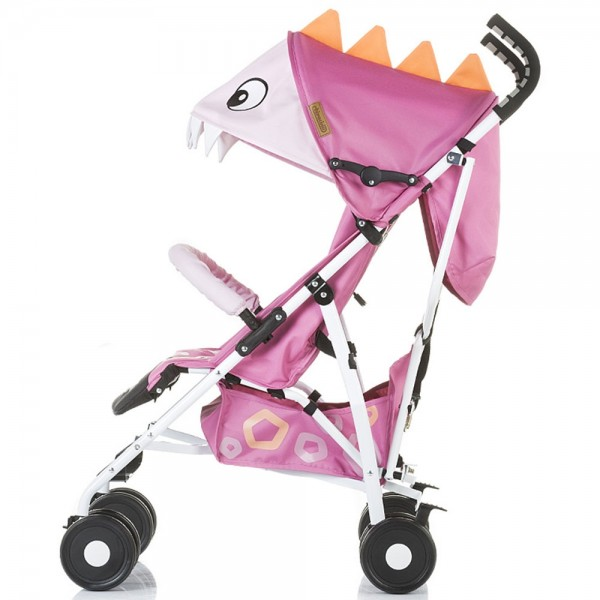 Carucior sport Chipolino Ergo pink baby dragon - 1