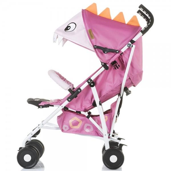Carucior sport Chipolino Ergo pink baby dragon - 2