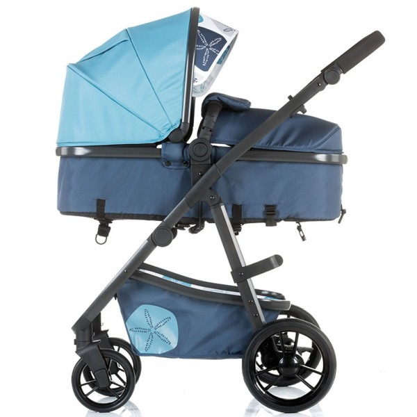 Carucior 2 in 1 Chipolino Milo marine blue imagine