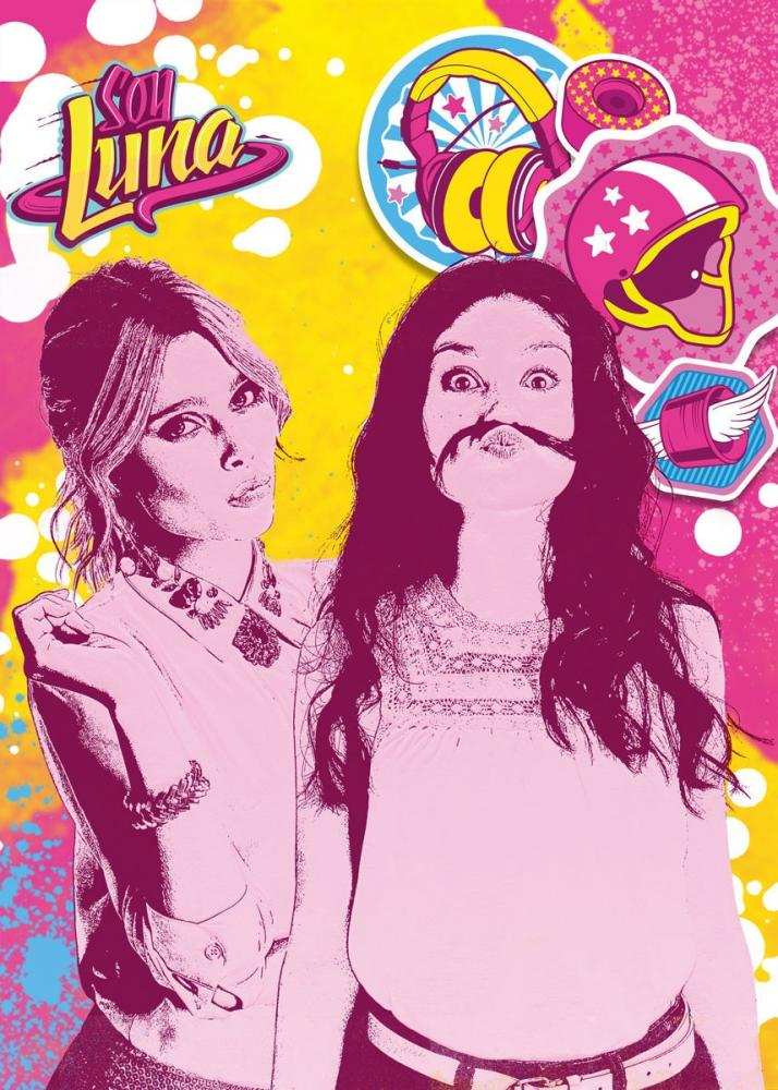 Covor kisses Soy Luna 95X133 cm imagine
