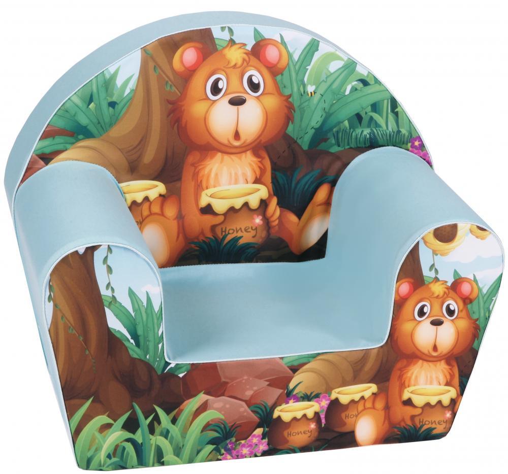 Fotoliu din burete Baby Bear