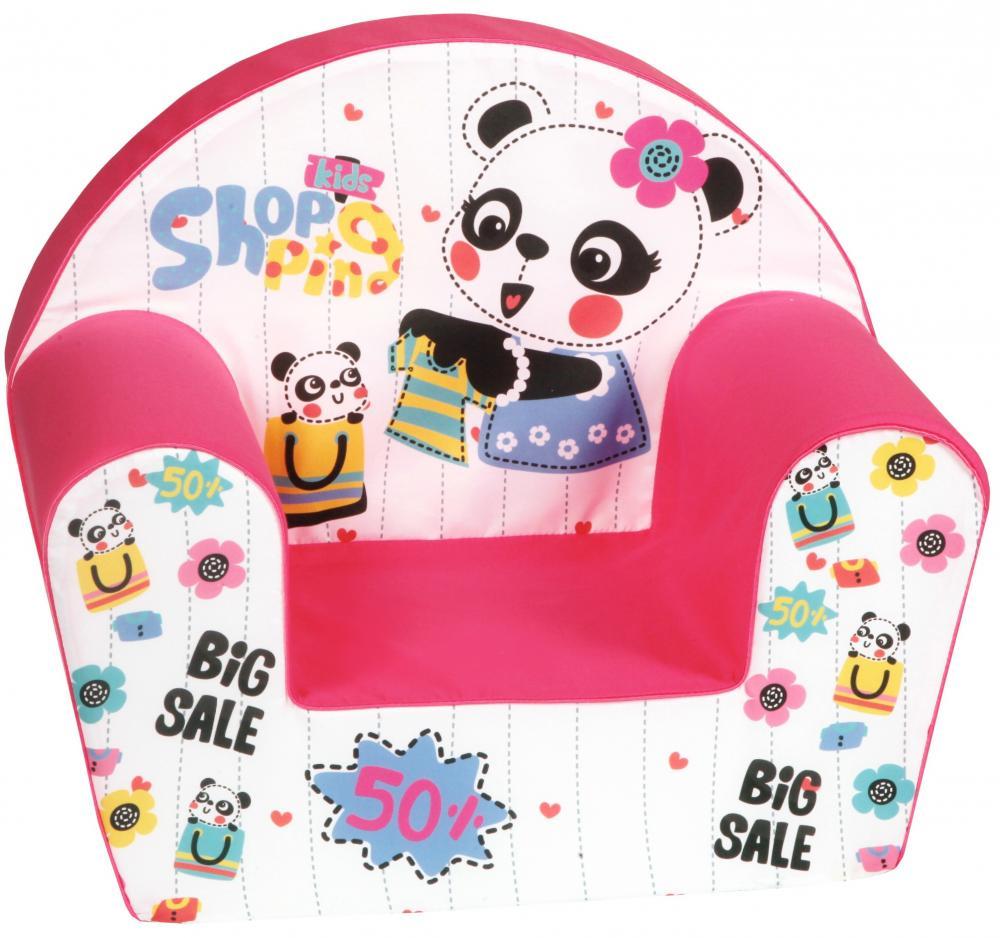Fotoliu din burete Kids Shopping