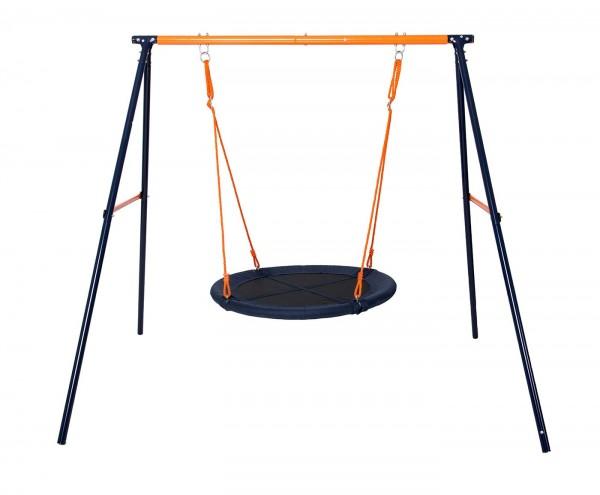 Leagan pentru copii tip cuib cu structura din otel suporta maximum 100 kg