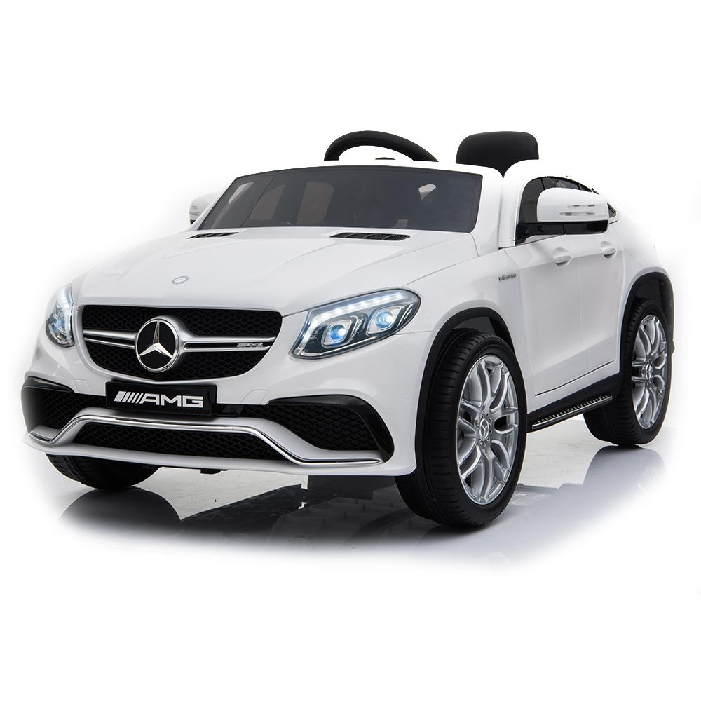 Masinuta cu roti din cauciuc Mercedes AMG GLE63 Coupe White
