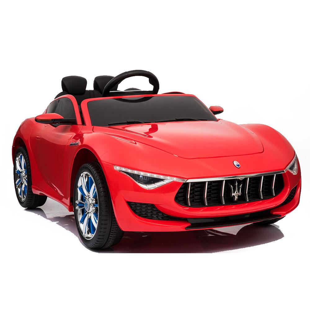 Masinuta electrica cu roti din cauciuc Maserati Alfieri Red
