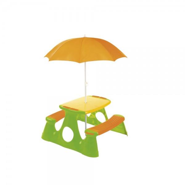 Masuta picnic pentru copii Paradiso Toys cu umbrela imagine