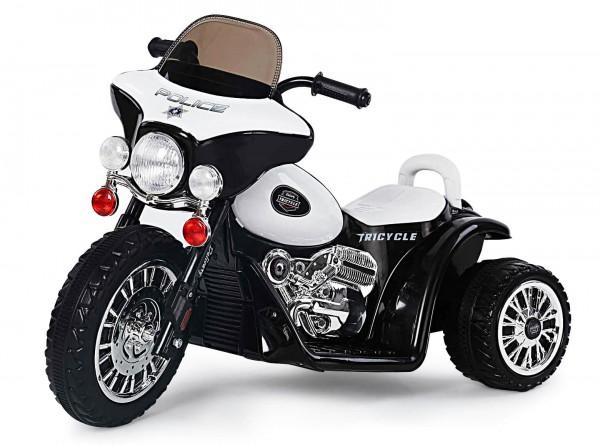 Motocicleta chopper Politie pentru copii electrica 25W 6V imagine