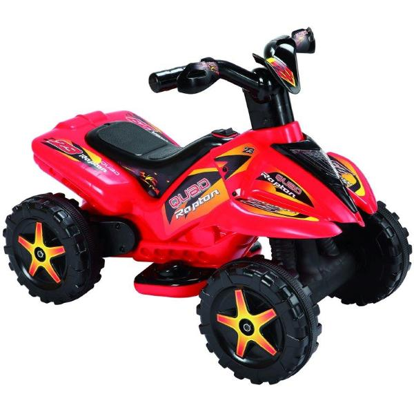 Quad copii cu pedala acceleratie rosu