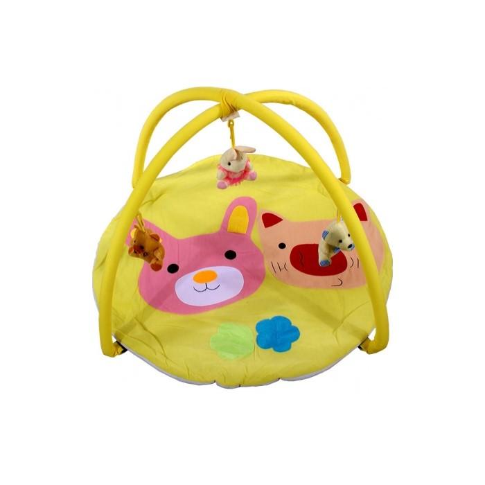 Salteluta de joaca Arti B694537 Pig & Rabbit toys Yellow