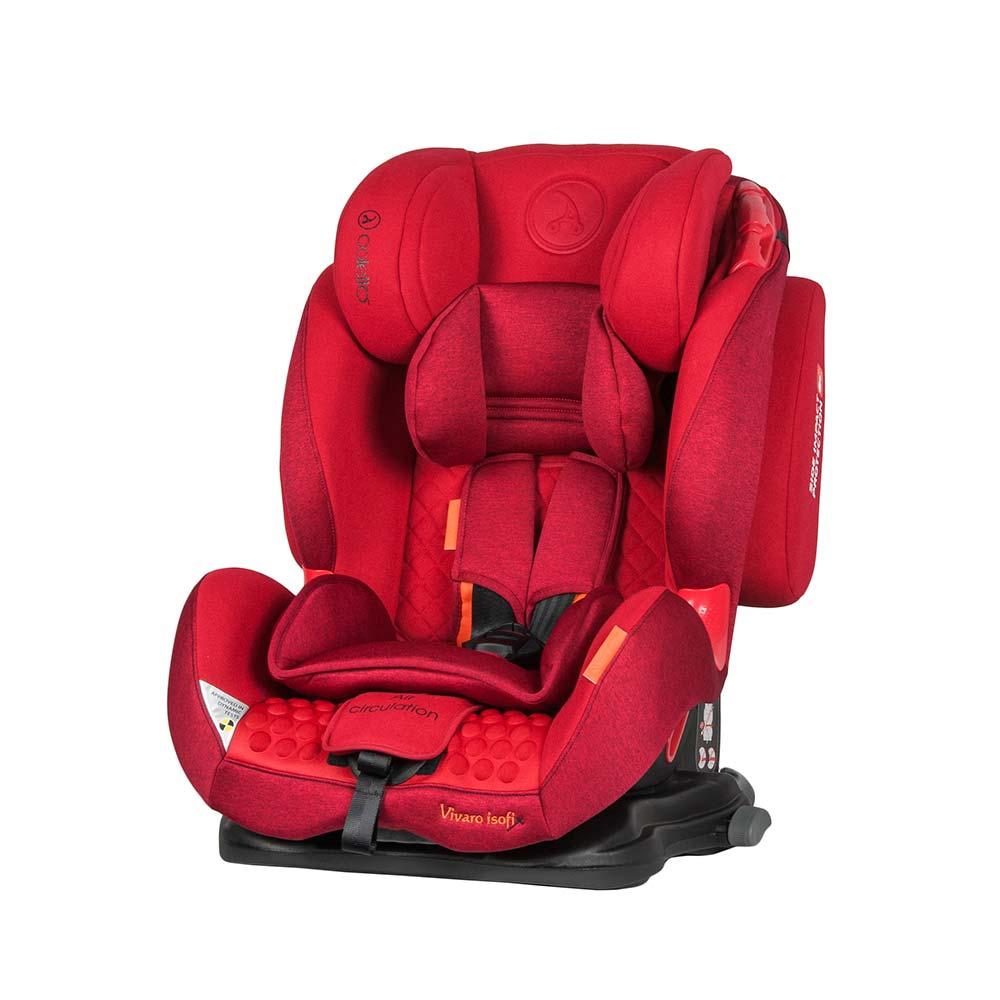 Scaun auto Vivaro cu isofix red Coletto din categoria Scaune Auto Copii de la COLETTO