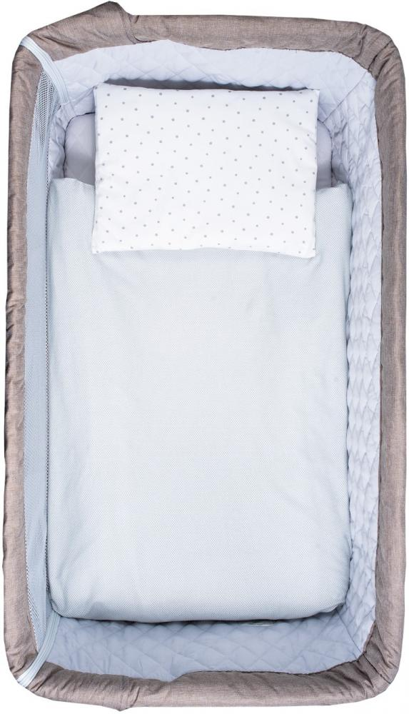 Set de pat pentru bebelusi Exclusive 5 piese