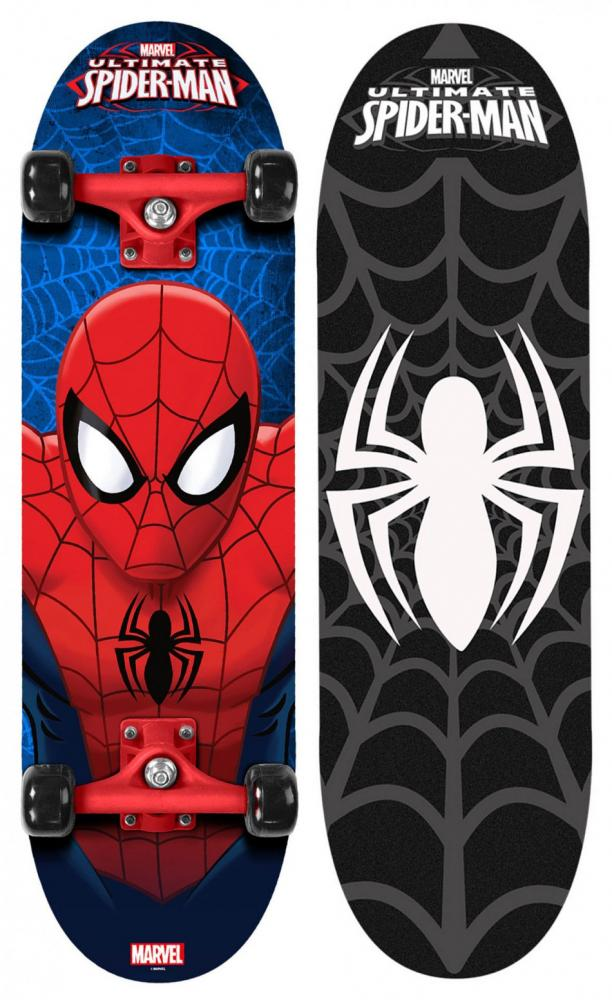 Skateboard Spiderman Stamp imagine