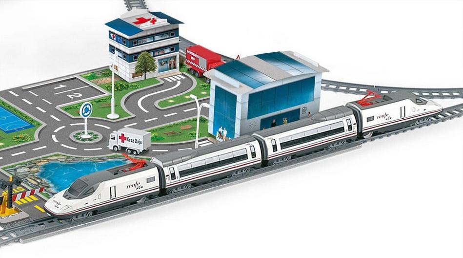Trenulet electric Renfe Ave Pequetren