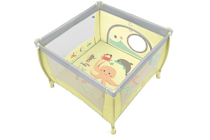 Tarc pliabil Baby Design 04 Light Green