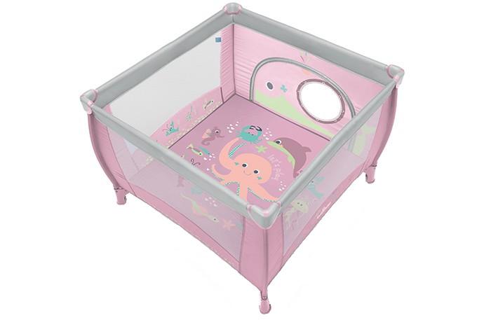 Tarc pliabil Baby Design 08 Pink
