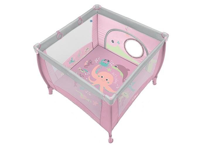 Tarc pliabil Play up roz Baby Design cu inele ajutatoare din categoria Camera copilului de la BABY DESIGN