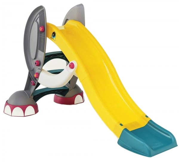 Tobogan Elefant pentru copii Paradiso Toys folosire in interior sau exterior din plastic cu sistem de apa
