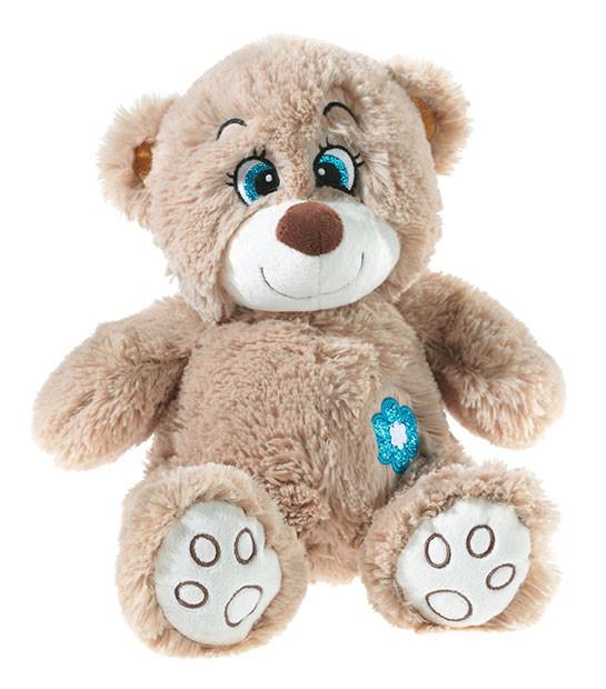 Uursulet din plus Teddy maro 40 cm
