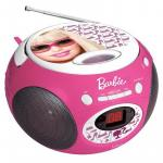 Boombox cu Cd Barbie Style
