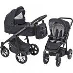 Carucior 2 in 1 Baby Design Husky Winter Pack 10 Black 2019