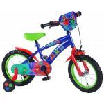 Bicicleta Volare pentru baieti 14 inch cu roti ajutatoare Pj Masks