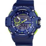 Ceas de mana copii Chronograph blue Xonix 49 mm