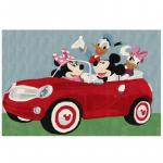 Covor premium cars Disney Mickey Mouse 133X190 cm