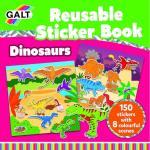 Cartea mea cu stickere Dinozauri