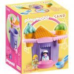 Jucarie pentru nisip galeata inghetata Playmobil