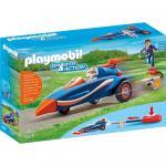 Masinuta de curse Playmobil