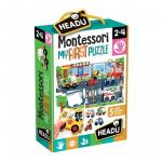 Montessori Primul Meu Puzzle - Oras