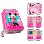 Penar 3 compartimente complet echipat Minnie Mouse