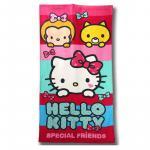 Prosop de baie sau plaja 70x140 cm Special Hello Kitty