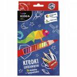 Set 36 creioane colorate Kidea