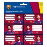 Set etichete Fc Barcelona