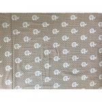 Set de 2 cearsafuri pt pat de 120x60 cm din finet cu elastic pe colturi