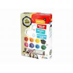 Set creativ pentru pictura pe fata 9 culori