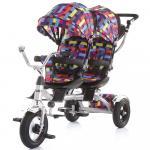 Tricicleta gemeni Chipolino Tandem multicolor