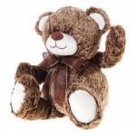 Ursulet din plus maro 38 cm